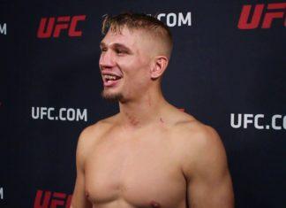 Austin Hubbard UFC Vancouver