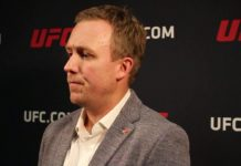 David Shaw UFC Senior VP, International and Content