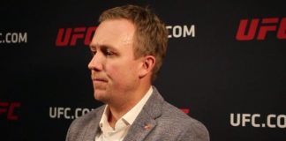 David Shaw UFC Senior VP, International and Content