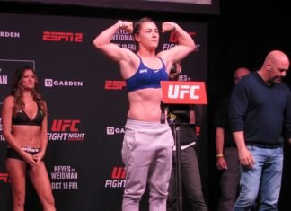 11 UFC Boston Molly McCann