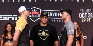 Maxim Grishin vs. Jordan Johnson PFL 9 2019