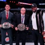 Scott Coker, Bellator (center)
