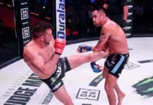 Nick Newell Bellator MMA