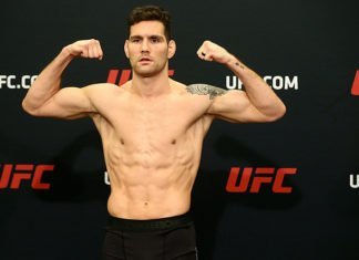 Chris Weidman UFC Boston