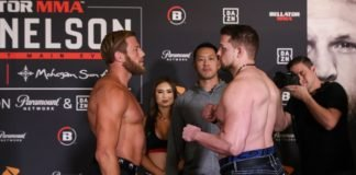 Bellator 231's Jake Hager and Anthony Garrett