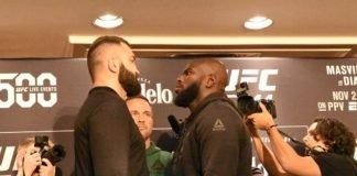 Andrei Arlovski vs Jair Rozensstruik UFC 244