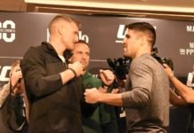 Stephen Thompson vs. Vicente Luque UFC 244