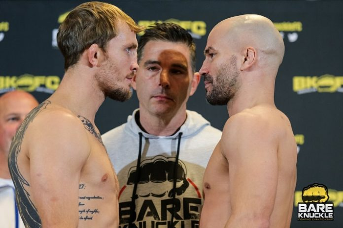 Jason Knight vs. Artem Lobov BKFC 9