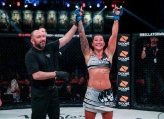 Arlene Blencowe Bellator MMA