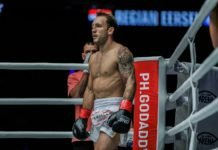 Brad Riddell UFC Auckland
