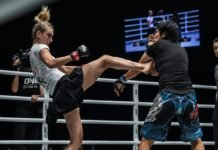 Colbey Northcutt at Edge of Greatness, her ONE Championship debut