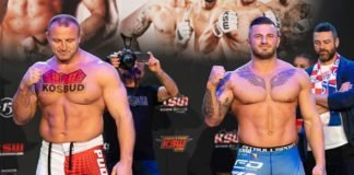 Mariusz Pudzianowski and Erko Jun, KSW 51
