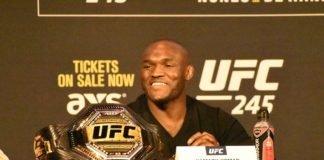 Kamaru Usman UFC 244