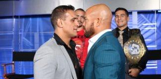 Alberto del Rio and Tito Ortiz
