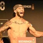 UFC 244 Shane Burgos Ceremonial Weigh-In 04