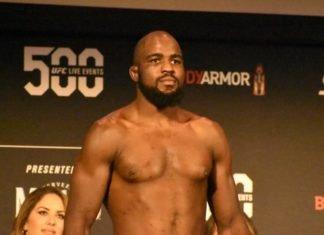 UFC 244 Corey Anderson