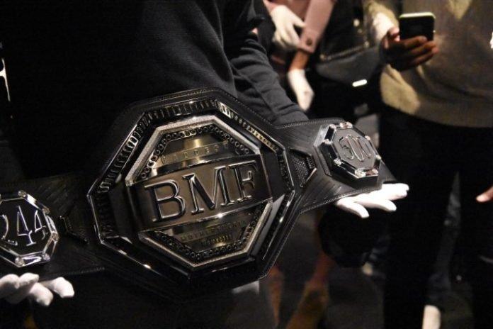BMF Belt, UFC 244
