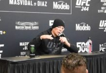 Nate Diaz UFC 244