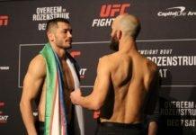 Makhmud Muradov and Trevor Smith ahead of UFC DC