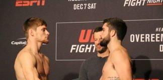 04 UFC DC FaceOff Bryce Mitchell Matt Sayles