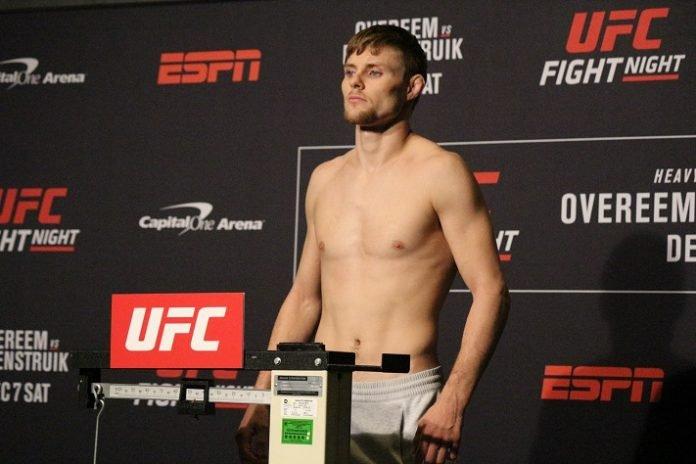 Bryce Mitchell UFC DC