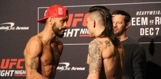 Rob Font and Ricky Simon, UFC DC