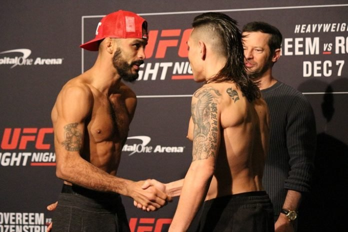 Rob Font and Ricky Simon, UFC DC