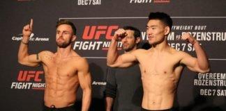 09 UFC DC FaceOff Cody Stamann Song Yadong