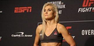Yana Kunitskaya UFC