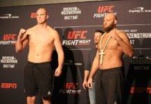 14 UFC DC Faceoff Stefan Struve Ben Rothwell
