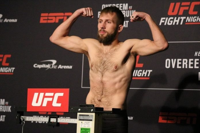 Jacob Kilburn UFC