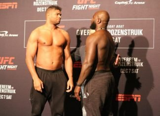 Alistair Overeem and Jairzinho Rozenstruik, UFC DC