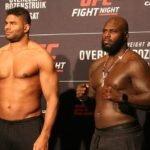 20 UFC DC FaceOff Overeem vs. Rozenstruik