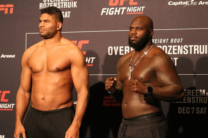 Ufc Dc Overeem Vs Rozenstruik Main Card Staff Picks