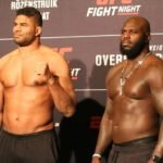 21 UFC DC FaceOff Alistair Overeem Jairzinho Rozenstruik