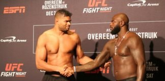 Alistair Overeem and Jairzinho Rozenstruik, UFC DC Face-Offs