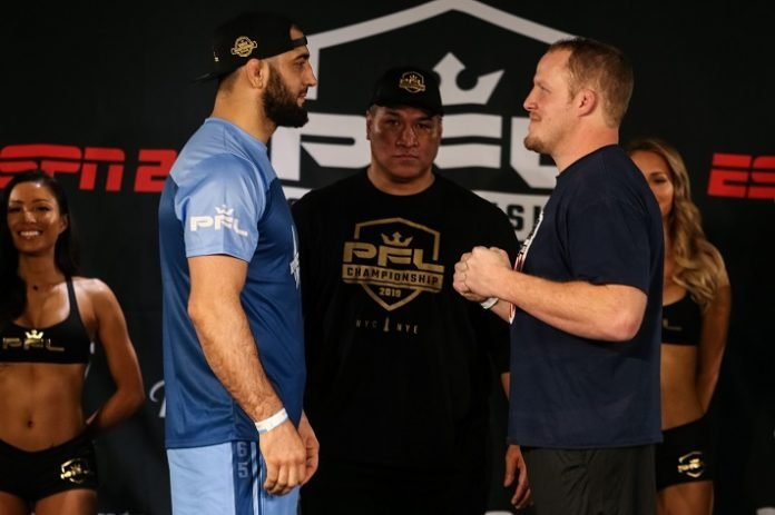 Ali Isaev and Jared Rosholt PFL Championship 2019