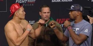 Da Un Jung vs. Mike Rodriguez UFC