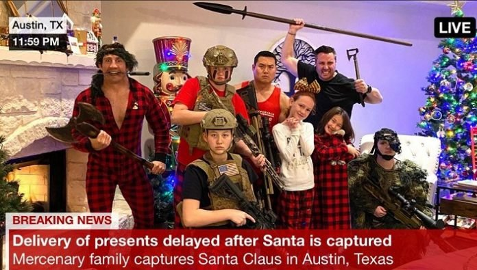 Tim Kennedy Christmas 2019