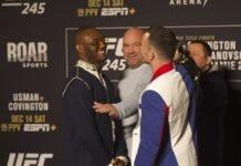 Kamaru Usman vs. Colby Covington UFC 245