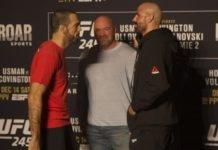 Matt Brown and Ben Saunders, UFC