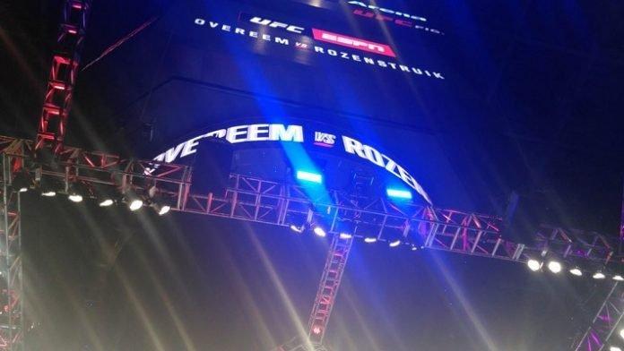 UFC DC, Capital One Arena