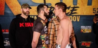 Mamed Khadilov and Scott Askham, KSW 52