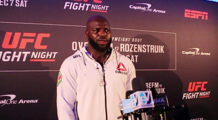 Jairzinho Rozenstruik UFC DC