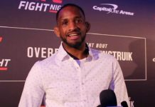 Neil Magny UFC DC backstage
