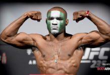 UFC 245 ceremonial weigh-in