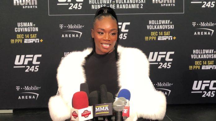 Clarissa Shields UFC 245