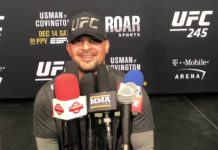 Sayif Saud UFC 245 Fortis MMA