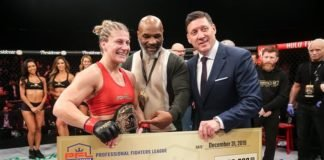 Kayla Harrison, PFL 2019 women's lightweight champion