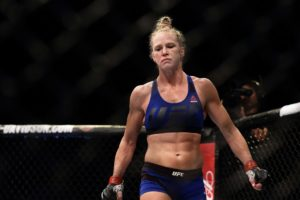Holly Holm, former Women's Bantamweight Champion